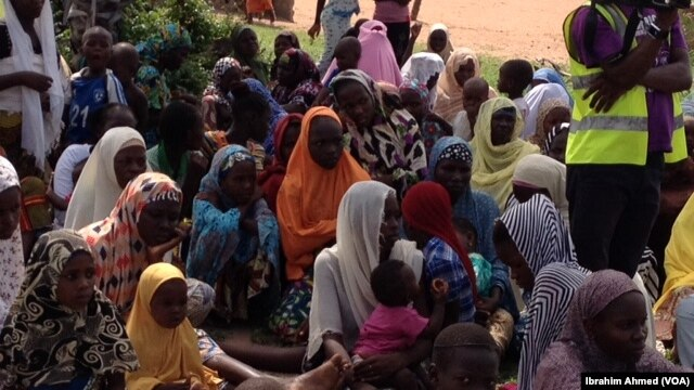 During its five-year insurgency, the Islamist group Boko Haram has driven thousands of people from their homes, including these women and children at a refugee camp in northeastern Nigeria
