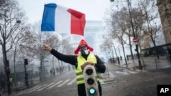 Protesti u Parizu protiv ekonomske politike francuskog predsednika Emanuela Makrona