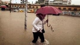 Përmbytje masive në Evropë