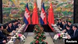 Mối quan hệ chính trị giữa Phnom Penh và Bắc Kinh ngày càng gia tăng.
