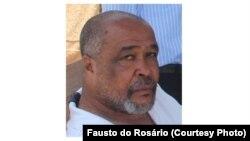 Fausto do Rosário investigador e Curador da cidade de São Filipe, ilha do Fogo, Cabo Verde. Nov. 2014