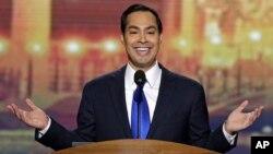 Julián Castro dijo que la respuesta a quienes quieren multiplicar el éxito de EE.UU. es Barack Obama.