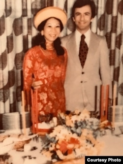 Lễ cưới của Jackie Bông và Lacy Wright, Washington D.C., 1976.