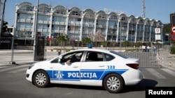 Ilustracija - Crnogorska policija u Podgorici (Foto:Rojters/Carl Recine)