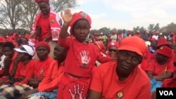 MDC Alliance supporters
