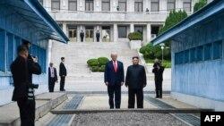 ABD Başkanı Donald Trump ve Kuzey Kore Lideri Kim Jong Un