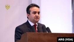 احمد شکیب مستغنی، سخنگوی وزارت امور خارجه افغانستان