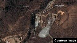 북한전문 웹사이트인 '38노스'가 지난해 12월 공개한 북한 풍계리 핵실험장 모습. (사진 제공=38노스-에어버스디펜스 앤드 스페이스)