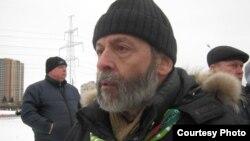 Депутат петербургского Заксобрания Борис Вишневский на одной из протестных акций