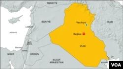 Sebuah masjid Sunni di kota Wajaihiya (Vacihiye, seperti tertera dalam peta) terkena serangan bom yang menewaskan setidaknya 20 orang (19/7)