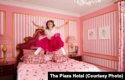 Young visitors can enjoy a stay in the Eloise Suite at the Plaza Hotel.
