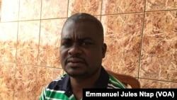 Victorien Mba, au Cameroun, le 20 avril 2019. (VOA/Emmanuel Jules Ntap)