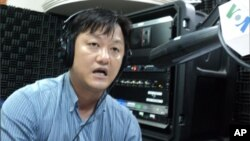 Lay Khim, an environment specialist for UNDP on 'Hello VOA' Monday.