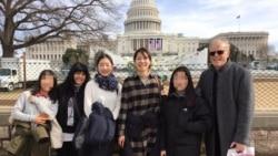 [뉴스풍경 오디오] 미국인 부부, 한국 내 탈북 학생들과 미국 여행