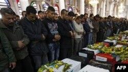 Homs şəhərində təhlükəsizlik qüvvələri tərəfindən 20 adam öldürülüb