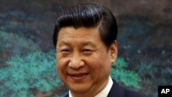 FILE - China's President Xi Jinping will meet with President Barack Obama at the White House in Washington on Friday.