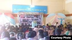 Burma ACT ကြန္ယက္အဖြဲ႔က ကမကထလုပ္ၿပီး အမ်ဳိးသမီးနဲ႔ ကေလးသူငယ္မ်ားကို လူကုန္ ကူးမႈတိုက္ဖ်က္ေရးေန႔အျဖစ္ အခမ္းအနားက်င္းပ။