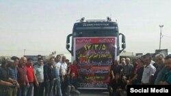 اعتصاب ماه گذشته رانندگان کامیون در ایران تقریبا به کمبود سراسری بنزین در ایران منجر شده بود.