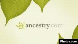 美國宗譜公司Ancestry.com的網頁