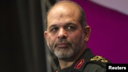 Iranian Defense Minister Ahmad Vahidi (February 2011 file photo)