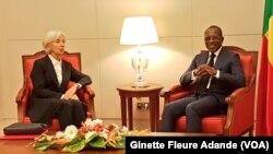 Christine Lagarde, directrice générale du Fonds Monétaire International