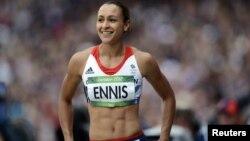 Atlet heptatlon Inggris, Jessica Ennis, tak luput dari cemoohan yang mengatakan tubuhnya terlalu gemuk. (Foto: Reuters)