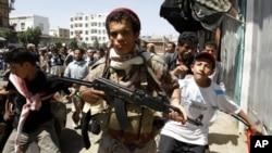 یمن کے دارالحکومت میں لڑائی کا دوبارہ آغاز
