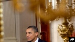 US President Barack Obama delivers the weekly address, 20 Feb 2010