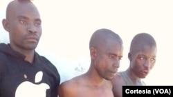 Membros do grupo que atacou Macímboa da Praia, Moçambique
