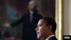 La popularidad del presidente Obama cae al 59%.