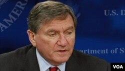 Pejabat tinggi Amerika urusan Afghanistan, Richard Holbrooke.