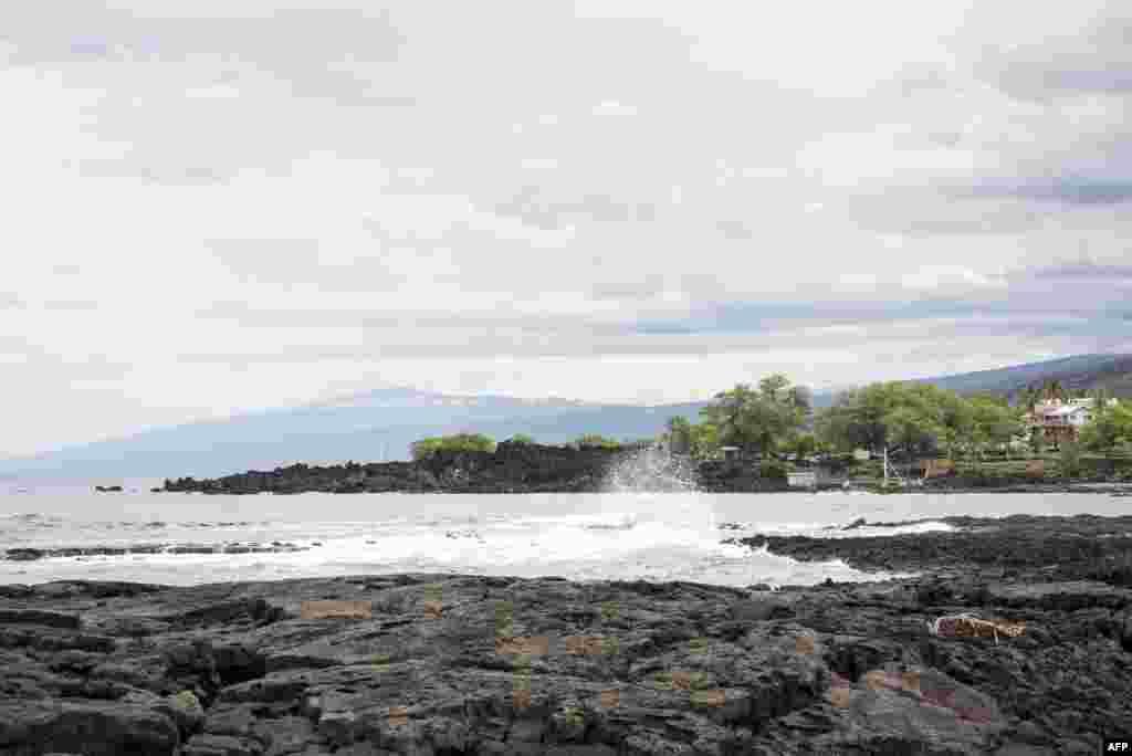 آرامش قبل از توفان در هاوایی. سازمان هواشناسی آمریکا نسبت به وقوع یک توفان بزرگ در هوایی هشدار داده است.