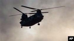 나토군 소속 미군헬기(자료사진)