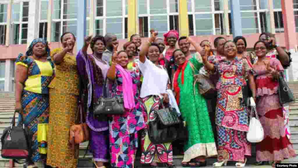 Viongozi wa vyama vya wanawake DRC wakitaka wanawake kushirikishwa zaidi katika siasa
