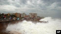 费林气旋是印度史上最严重的风暴