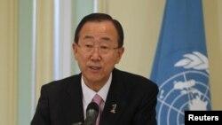 Le secrétaire général de l'ONU Ban Ki-moon (archives)