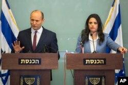 La ministra de Justicia israelí, Ayelet Shaked, dijo el miércoles que el presidente estadounidense Donald Trump pierde el tiempo intentando presionar para que Israel y Palestina alcancen un acuerdo de paz.