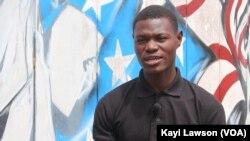 Samuel Ana, Lomé, le 13 novembre 2019. (VOA/Kayi Lawson)