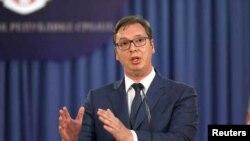 Predsednik Srbije Aleksandar Vučić (arhivska fotografija)