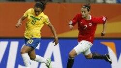 برد قاطع زنان برزیل در جام جهانی