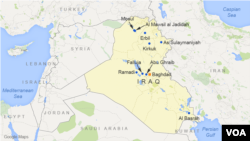 Bashir is located 16 miles south of the city of Kirkuk