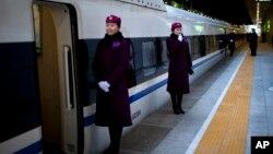 中国的高速列车