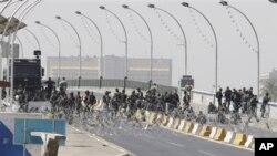 Kawasan Zona Hijau di Baghdad yang dijaga ketat oleh pasukan keamanan Irak (foto: dok).