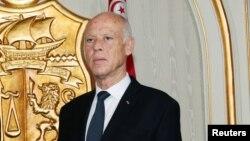Le chef de l'Etat tunisien, Kaïs Saïed.