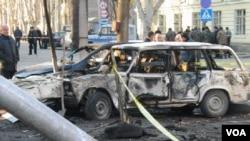 2005 წლის 1 თებერვალი. გორში, რუსული ГРУ-ს მოწყობილ ტერაქტს სამი ქართველი პოლიციელის სიცოცხლე შეეწირა