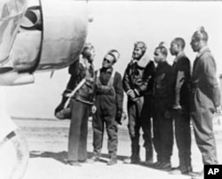 The Tuskegee airmen, black fighter pilots and gunners, served with distinction, escorting US bombers over Europe and Africa.