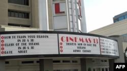美国电影院上映的新片