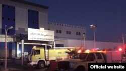 Fire at the hospital-Jazan-Saudi Arabia- December 24, 2015