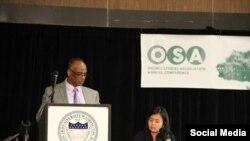 Dr.Chikaagee (Looko Duubaa) kora OSA bara 2015 irratti waan aadaa Booranaa dubbatte