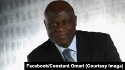 Constant Omari, le président de la Fédération congolaise de football association (Fecofa), 15 fevrier 2017. (Facebook/Constant Omari)